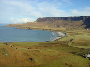 Looking over Laig Bay
